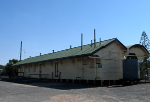 Heritage listed Yeppoon Railway Station 2011